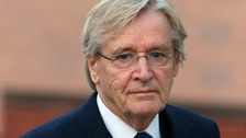 Actor William Roache arriving at Preston Crown Court