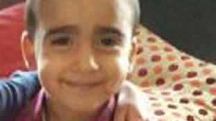 Three-year-old Mikaeel Kular.
