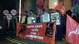 Protests in Middlesbrough