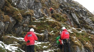 Ogwen Valley mountain rescue team,