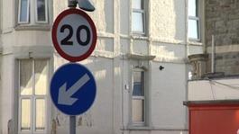 Anger at Bristol's 20mph zones