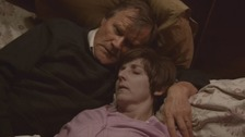 Roy (played by David Neilson) and Hayley Cropper (Julie Hesmondhalgh) in last night's episode.