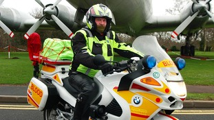 A new blood bikes service will be officially launched today at RAF Cosford.