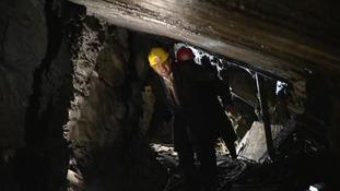 Blaenau Ffestiniog quarry caverns open to the public after £140,000 development