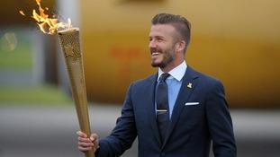David Beckham London 2012 Olympics