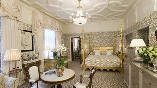 The Tudor Suite at The Milestone Hotel