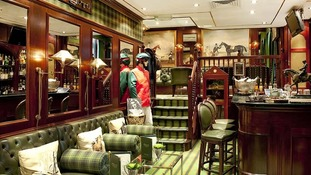 The exclusive Stables Bar