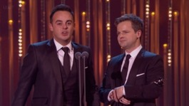 Prince Charles' tribute to Ant and Dec at National TV Awards