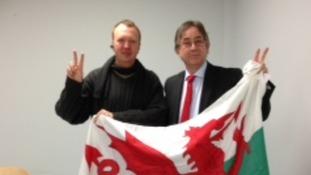 Mick Antoniw flag