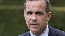 File photo of Bank of England Governor Mark Carney.