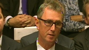 Nigel Evans in the House of Commons as he gave his resignation speech.