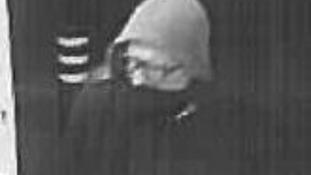 CCTV image of Bradford robbery suspect