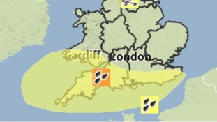 The Met Office has issued a Yellow Warning of Rain