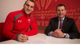 Sam Warburton signs WRU National Contract