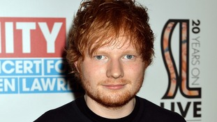 Ed Sheeran is nominated for best new artist.