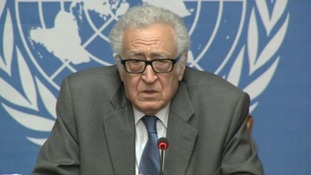 The UN's Lakhdar Brahimi has been mediating talks between Syria's regime and opposition