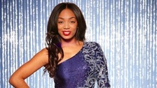 Zaraah Abrahams has been kicked off Dancing on Ice after losing a skate-off against Kieran Bracken