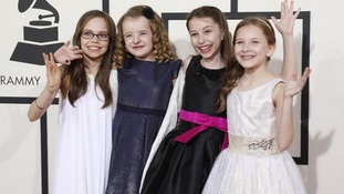 Oona Laurence, Milly Shapiro, Bailey Ryon and Sophia Gennusa all play Matilda.