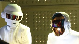 Couples married at Grammy Awards as Daft Punk triumph