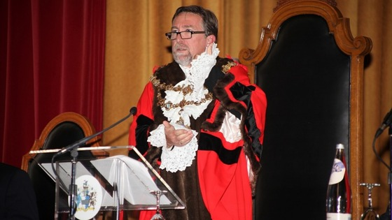 Mayor Knowles , Wandsworth's new Mayor