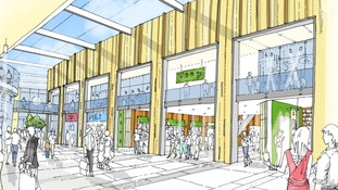Broadmarsh centre re-development
