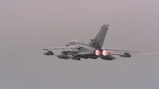 The Tornado warplanes will be training with US and NATO forces