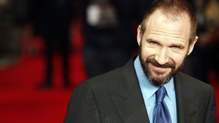 Ralph Fiennes arrives at the premiere of 'The Invisible Woman'