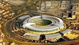 File photograph of British intelligence agency GCHQ.