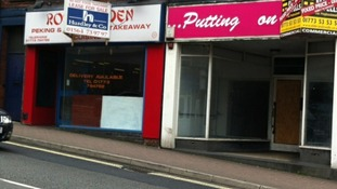 More empty shops in Heanor, Derbyshire