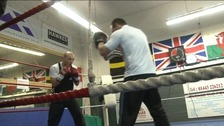 Gavin Rees, Gary Lockett, boxing