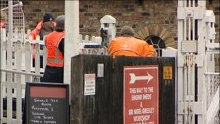 Railway death at Grosmont Station