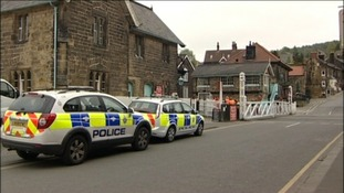 Railway death at Grosmont Station