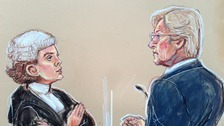 Prosecutor Anne Whyte QC questions Bill Roache