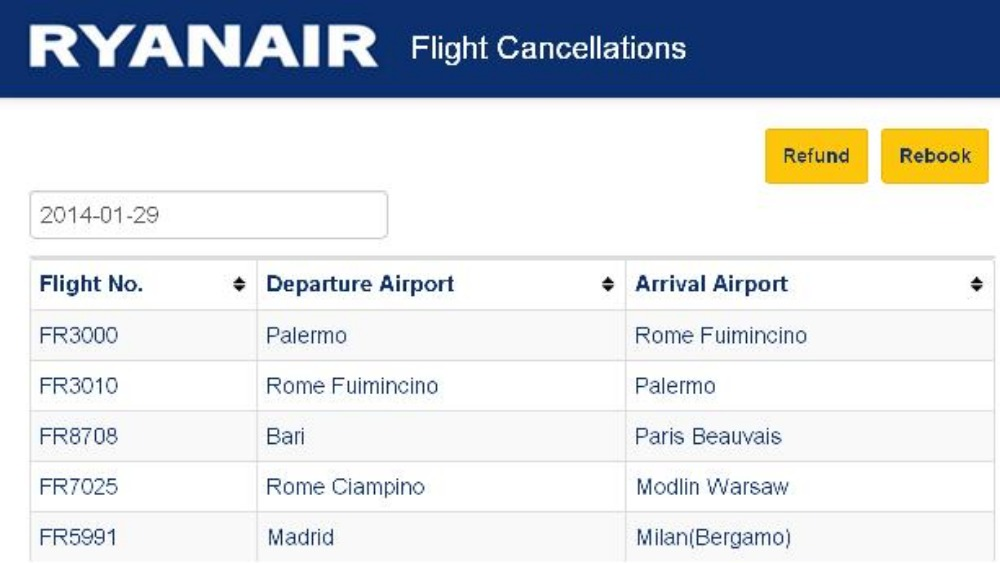 Ryanair Confirms Flight Cancellations And Delays Itv News