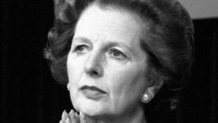 Former PM Margaret Thatcher