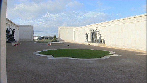 The National Memorial Arboretum in Staffordshire where the memorial will be unveiled