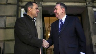 BoE Govenor discusses merits of Scotland keeping the pound