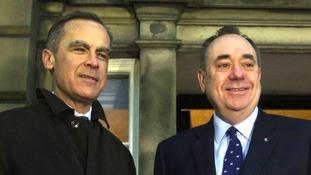 Mark Carney's speech may cause severe headaches for Alex Salmond