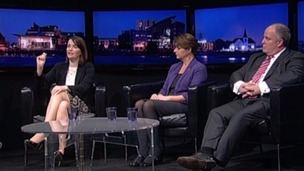 Kirsty Williams, Leanne Wood, Andrew RT Davies
