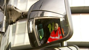 The new lorries minimise blind spots