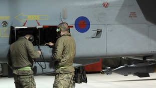 617 Squadron mission crews prepare for another sortie