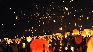 Chinese lanterns can harm animals.