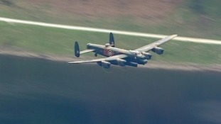 A 'Dambuster' plane dating back to the 1940s
