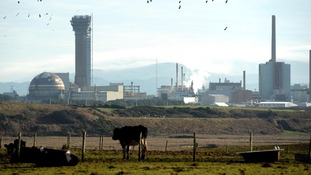 The Sellafield nuclear complex in Cumbria