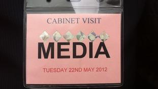 Media pass.