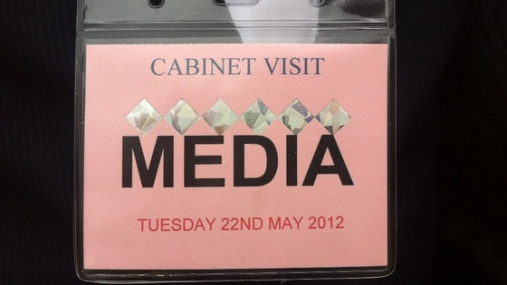 Media pass.