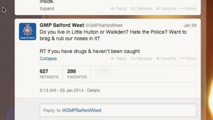 Hundreds 'admit' drug use to police on Twitter