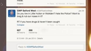 Hundreds 'admit' drug use to police on Twitter