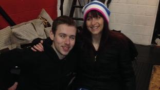 Matt Inglesby is raising money to help Kerry Greenfield