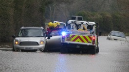 The wettest January for almost 250 years - & more rain on  way